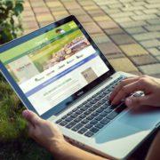 Fargo Golf website created by Nufire Marketing