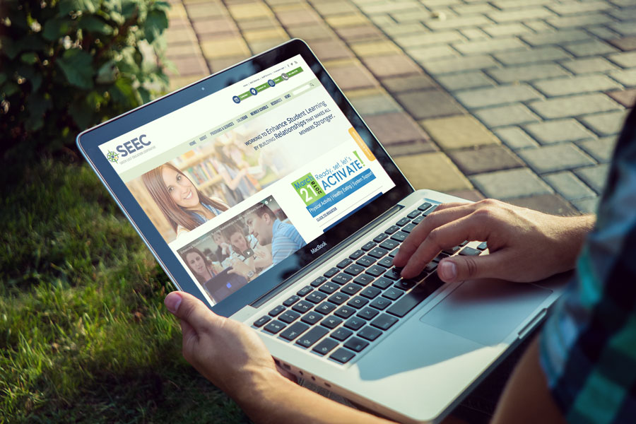 Nufire Marketing website design for SEEC in Fargo North Dakota