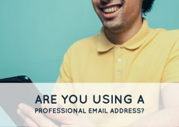 Are you using a bad email address?