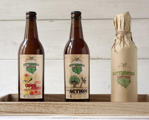 Cottonwood Cider House Labels