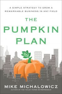 THE PUMPKIN PLAN BOOK BY MIKE MICHALOWICZ
