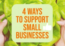 4 ways to support small businesses