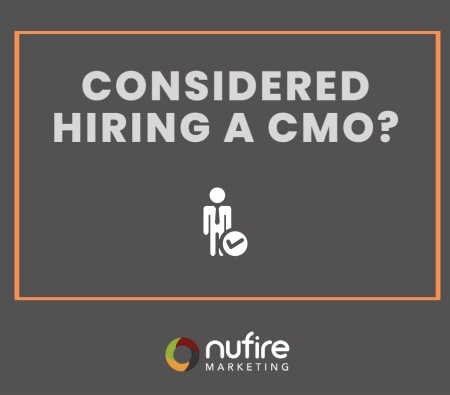 Have you considered hiring a CMO?