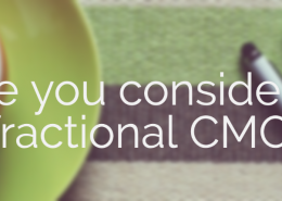 Hire a fractional CMO for solving your marketing issues