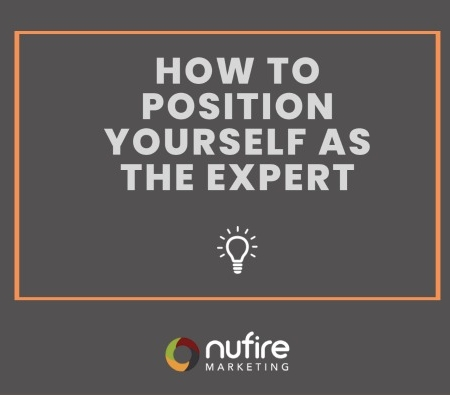 How to position yourself as the expert
