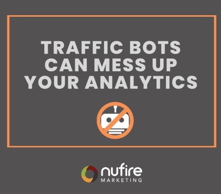 Traffic Bots can mess your google analytics