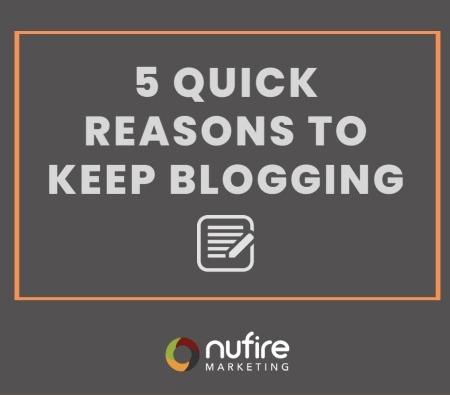 5 Quick Reasons to Blog