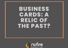 Business cards, a relic of the past or still in use?